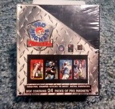 Complete 24 Pack Box of 1996 PRO MAGNETS FOOTBALL! RARE Emmitt Smith Jerry Rice