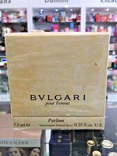 BVLGARI POUR FEMME PARFUM NATURAL SPRAY  7.5 ML