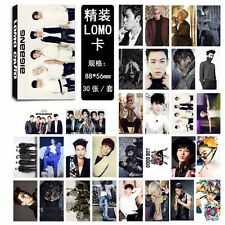 30PCS KPOP BIGBANG LOMO CARD SET PHOTO POSTCARD TOP GD TAEYANG DAESUNG SEUNGRI