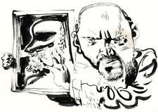 Dave McKean Self Portrait Original Illustration Art