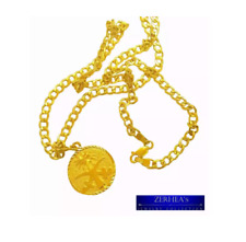 Saudi Gold 21k Necklace for Men