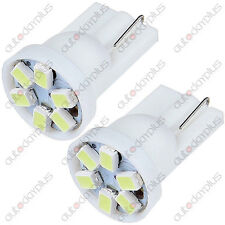 5x T10 3020 SMD 6LED 194 Bulb WHITE Truck light For Scion Mazda