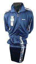 DIADORA tuta giacca+pantalone Tg 48 BLU  102113, vintage