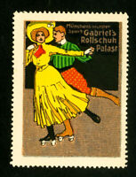 Germany Stamps Superb Rollerskating label OG NH