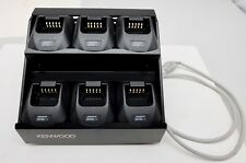Kenwood KMB-23 Multiple Charger With 6 Kenwood KSC-25 Chargers Free Shipping