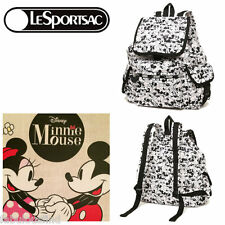 LeSportsac Disney Mickey Loves Minnie Mouse Voyager Backpack Free Ship NWT P928