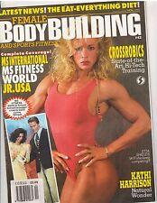 FEMALE BODYBUILDING #42 muscle magazine/Etta Shields/Laura Creavalle poster11-94