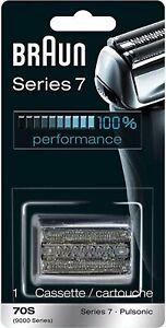 Braun Pulsonic Series 7 70S Foil and Cutter Replacement Head Cassette /Cartouche