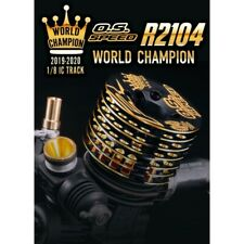OS Speed  1CR00  R2104 World Champion Limited Edition 1/8 ON ROAD  NEW IN BOX