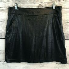 Greg Norman Womens Monarchy Knit Pleat Skort Greg Norman Collection G2F8H780-P