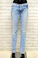 Jeans Donna TOMMY HILFIGER Taglia Size 29 Pantalone Pants Woman Cotone Blu Slim