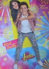 SOY LUNA - A1 Poster (XXL - 80 x 55 cm) - Karol Sevilla Ruggero Pasquarelli NEU