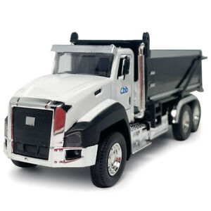 1/50 Dump Truck Construction Equipment Model Car Diecast Engineering Vehicle Toy