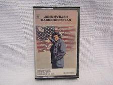 Johnny Cash - Ragged Old Flag - cassette tape
