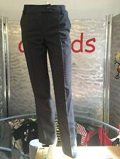 Esprit Classic Collection Fit London Nadelstreifen Hose Damen Gr 32 s/w Wie Neu