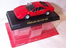 Ferrari 328 GTB 1985 in Red 1-43 scale new in pack