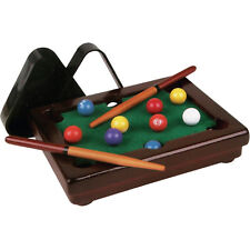 Kids Mini Desktop Pool Table Set Billiard Snooker Tabletop Balls Game Portable