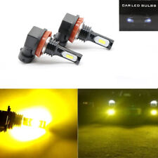2x 100W H11 H8 H9 3000K Yellow High Power 3030 LED Fog Lights Driving Bulb DRL