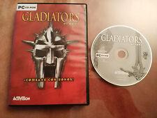 THE GLADIATORS OF ROME JUEGO PARA PC CD-ROM EN ESPAÑOL ACTIVISION