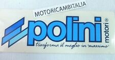 POLINI ADESIVO STICKER ADHESIVE  VESPA VINTAGE AUTOCOLLANT AUFKLEBER ADHESIVO