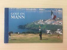 "1997 Isle of MAN Timbre livret SB46 ""GOLF sur Mann"" £ 4.54"