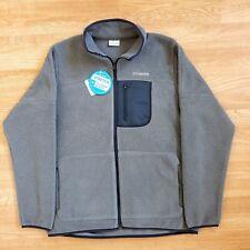 Columbia Men's Rugged Ridge Sherpa Fleece Jacket Western Sportswear Sz Large