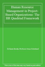 Human Resource Management in Project-Based Organizations by Bredin, Karin New,,