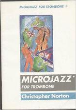 Microjazz For Trombone Bass Clef Intermediate Fun Sheet Music Book Norton B86