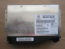 Getriebesteuerung Steuergerät AUDI A6 S6 2,7T Quattro 250PS FAX 4B0927156FD