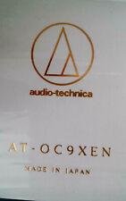 Audio Technica AT-OC9 XEN  MC-Tonabnehmer elliptische Nadel 0,35 mV NEU und OVP