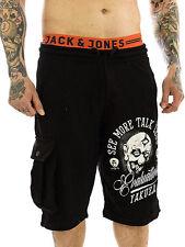 Unifarbene Yakuza Herren-Shorts