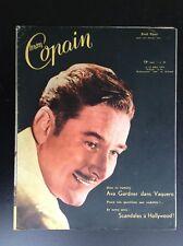 TRES RARE revue Mon Copain cine cinema  N°29 1954 TBE