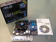 BUNDLE ASUS H61M-K mATX / Core i3 3220 ( 2x 3,3 GHz ) / 8GB DDR3 RAM / Blende