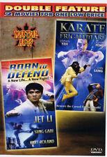 Jet Li - Born To Defend & Karate Frightmare - Double Feature - 1986 Dvd