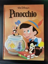 Walt Disney's Classic PINOCCHIO Book Hard Cover Storybook 1996 Twin Books