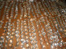 huge lot of antique Czech Octagon links must see 24x20