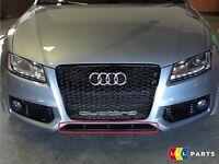 Neuf Véritable Audi A5 S5 08-11 Sline Avant Pare-Choc Réflecteur Bordure Noir