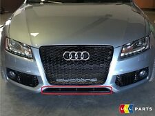 Audi Original A5 08-11 S LINE Parachoques Delantero Difusor Embellecedor Negro