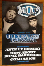 M.O.P. Mash Out Posse Billy Danze Lil' Fame 12x18 promo poster flat 2sided 2003