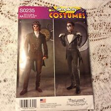 Simplicity Pattern S0235 Size U.S. 38-44 Men's Cosplay Costumes