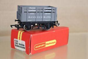 HORNBY R101 BANNOCKBURN PLEAN COLLIERY COKE WAGON 4 BOXED nx