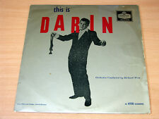 EX !! Bobby Darin/This Is/1959 London LP