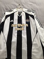 06/07 Newcastle player issue l/s size L Shearer No.9