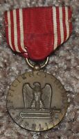 WW2 ARMY GOOD CONDUCT MEDAL SLOT BROOCH NOT NAMED