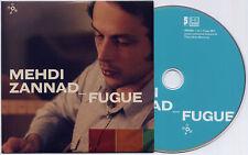 MEHDI ZANNAD Fugue 2011 French 10-track promo CD