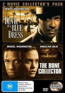 The Bone Collector/ Devil In A Blue Dress (DVD,2007,2-Disc) Denzel Washington