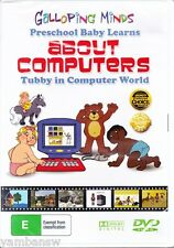BABY LEARNS ABOUT COMPUTERS * TUBBY IN COMPUTER WORLD * NEW & SEALED DVD
