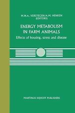 Energy Metabolism in Farm Animals : Effects of Housing, Stress and Disease 44...
