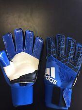 Adidas Ace Trans Pro Fingersave goalkeeper Glove-- Blue black Size 9