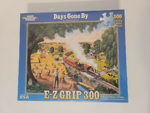 White Mountain 300 Piece Jigsaw Puzzle Days Gone By *Trains* FAST FREE SHIPPING